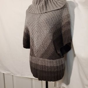 Bamboo Traders Sweaters - 🤟Bamboo Traders Grey Ombre Cowl Neck Sweater SZ S